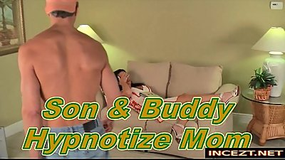 Son And Buddy Hypnotize Mom HD incezt.net