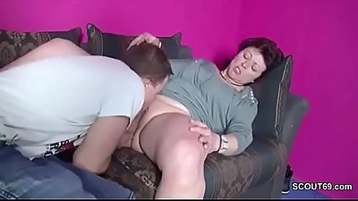 Son Caught Step-Mom Masturbate