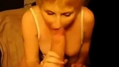 Blonde Milf Sucks Huge Cock - Live - www.69SexLive.com
