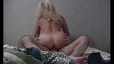 Horny Blonde Stepmom Taking Stepson&#039_s Cock For Breakfast