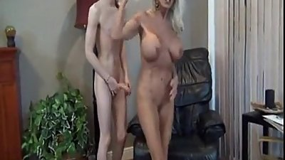 Son biggest cock fuck his mom