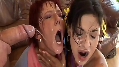 Stepmom and Teen fucked by boss