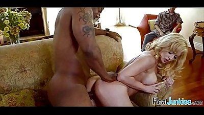 My mom has a black cock fetish 260