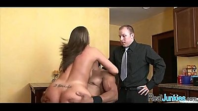 Watching mom fuck a black guy 492