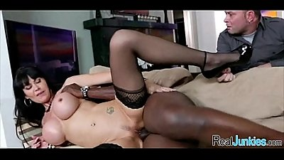 Mom makes son watch her get fucked by big black cock 395