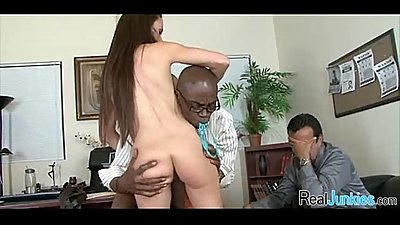 Watching mom fuck a black guy 507