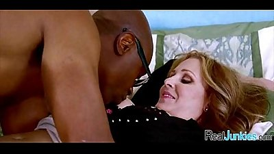 Interracial cuckold with mom 240