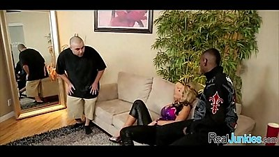 Interracial cuckold with mom 187