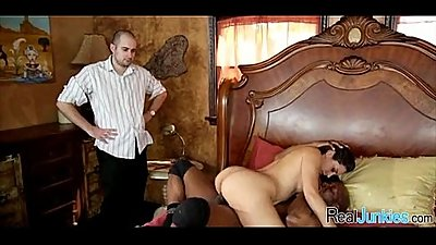 Interracial cuckold with mom 161
