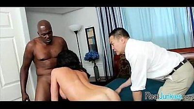 Interracial cuckold with mom 104