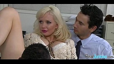 Interracial cuckold with mom 088