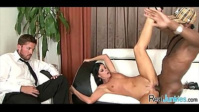 Interracial cuckold with mom 056