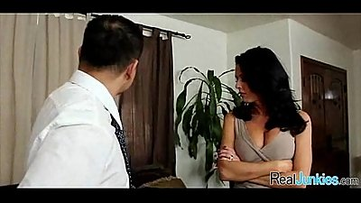 Mom makes son watch her get fucked by big black cock 274