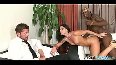 Interracial cuckold with mom 054