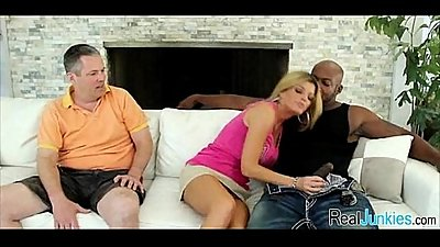Interracial cuckold with mom 125