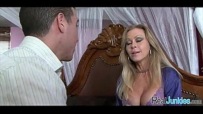Interracial cuckold with mom 331