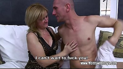 Ass Spanked And Fucked By Blonde Stepmom