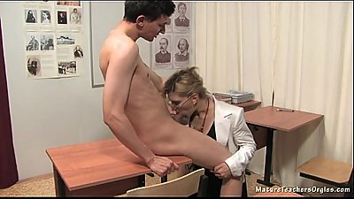 Russian mature teacher 3 - Natalia (history lesson)