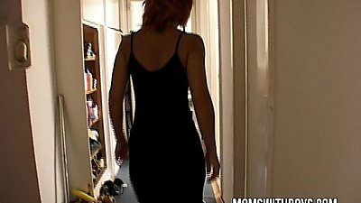 Stepmom Gets To Suck And Fuck Her Stepson&#039_s Cock