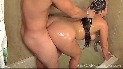 Madisin Lee in Fuckin Wash My Hair. MILF get fucks while getting hair washed