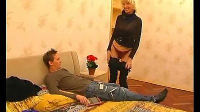 Guy fuck his older mature aunt